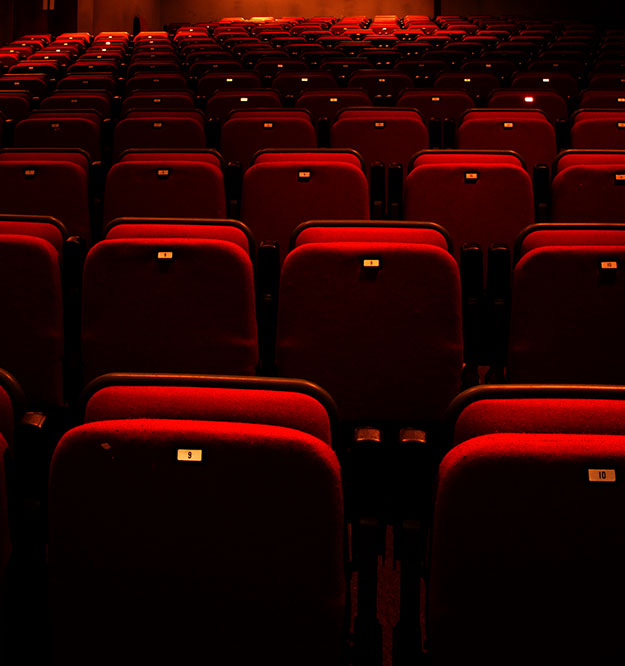 Seats in the Little Theatre Gorey